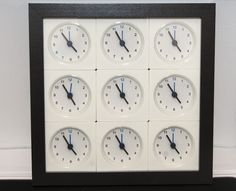 IKEA Hackers: Time to Hack the RIBBA With VÄCKIS Clocks