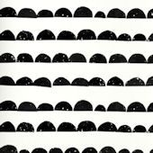 Ferm Living Half Moon Black and White Wallpaper Ferm Living Wallpaper, Modern Wallpaper, Kids Stickers, Wall Stickers, Decals, Black And White Wallpaper, Home Wall Decor, New Product, Wall Murals
