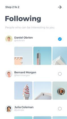 Following Mobile App Ui, Mobile App Design, Web 2.0, User Experience Design, Information Graphics, Screen Design, Ui Ux Design, Flat, User Interface