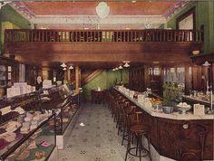 "Burt's ""The Duchess Chocolate Shop"". Warren, Ohio. Early 1910's by Downtown Warren History, via Flickr"