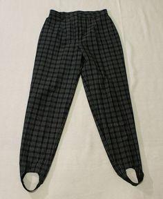 Vintage 1980's Original Stirrup Pants in by Tastecannotbetaught