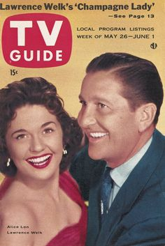 TV Guide: May 26, 1956 - Alice Lon and Lawrence Welk