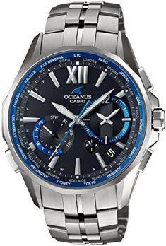 [Casio] CASIO Watch Osianas Manta Radio Solar Pair OCW-S3400-1AJF Men's #OCEANUS