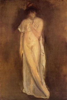 The Little Red Cap - James McNeill Whistler