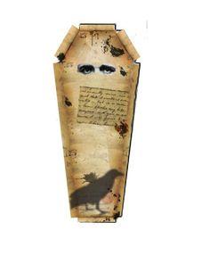 Edgar Allan Poe Coffin Top