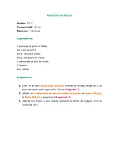 MENÚ SEMANA THERMOMIX by Mila Martín - issuu Food N, Deserts, Food, Noodles, Appetizers, Kitchens