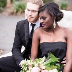 Stunning interracial couple wedding photography #love #wmbw #bwwm #swirl #biracial #mixed #lovingday #relationshipgoals