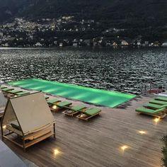Il Sereno Hotel, lake Como