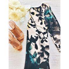 Shaded Garden Dress Hp