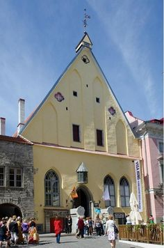 Estonia History Museum - Great Guild Hall, Old Towne in Tallin
