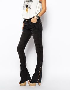 The must-have addition to my denim collection… I just cannot get enough of flares this season! http://asos.to/1oj0D1m