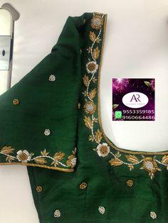Blouse Designs High Neck, Cutwork Blouse Designs, Hand Work Blouse Design, Wedding Saree Blouse Designs, Stylish Blouse Design, Fancy Blouse Designs, Simple Kurti Designs, Maggam Work Designs, Hijab Outfit