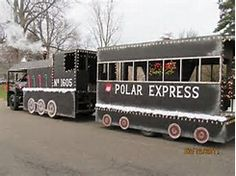 polar express parade float - Bing images