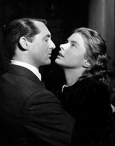 """Notorious"" Cary Grant, Ingrid Bergman 1946 RKO / **I.V."