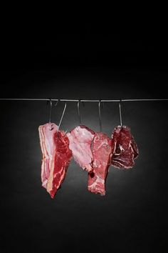 Hooked On Meat by Christina Hartati Phan, via Behance