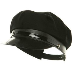 53a52079f05 Jacobson Hat Company Adult Black Chauffeur Cap  fashion  clothing  shoes   accessories
