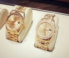 Rolex: His and Hers