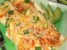 Easy Chicken Enchiladas from Rotisserie Chicken
