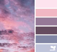 Purples, Blues and Pinks ~ Great Colour Scheme For A Shared Children's Bedroom