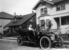 Somewhere in Los Angeles, Febraury 12, 1912. (LAPL 00020815) Bizarre Los Angeles