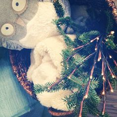 Baby Button Brown: Christmas Decor Part 2.