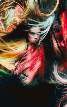 Hair stylist Ilham Mestour