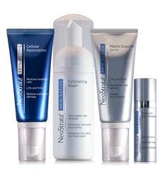 Neostrata Skin Active är vår bäst säljande antaging-serie. Den innehåller NeoGlucosamine och Retinol som stimulerar bildande av hyaluronsyra och orsakar cellförnyelse. Den minimerar fina linjer i huden.