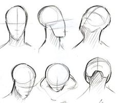 This is good for when u want to draw a face in any direction after you've done that just add the characteristics