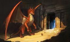 red dragon by GaudiBuendia.deviantart.com on @DeviantArt