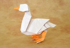 Duck by Katsuta Kyouhei - In Origami Tanteidan Magazine 94; available via Gilad's Origami Page?