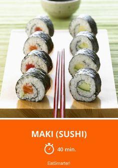 Maki (Sushi) - smarter - Zeit: 40 Min. | eatsmarter.de