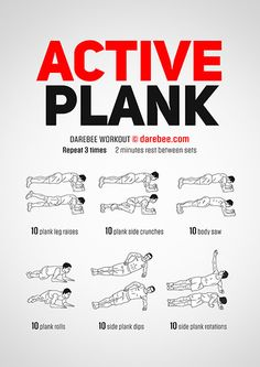 Active Plank Workout | Posted By: NewHowtoLoseBellyFat.com
