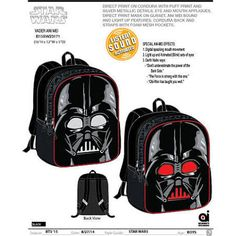 Star Wars Darth Vader 16 inch Ani-Mei Backpack