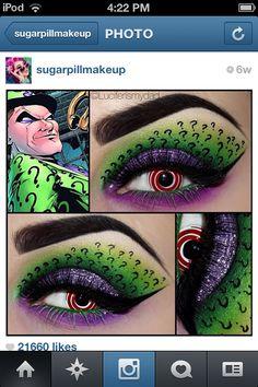 Riddler! This is @luciferismydad on IG. Crazy talented. Love her work.
