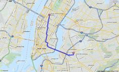 Walking Directions from 1515 Broadway, New York, New York 10036 to 127 Meserole St, Brooklyn, New York 11206 | MapQuest