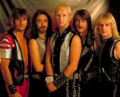 See Judas Priest pictures, photo shoots, and listen online to the latest music. Judas Priest, 80s Hair Metal, Hair Metal Bands, Bruce Dickinson, Rock And Roll Bands, Rock N Roll Music, Ozzy Osbourne, Iron Maiden, Rob Halford