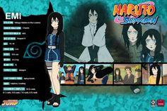 naruto shippuden characters profile | ... : More Like Emi Nakamura - Naruto Shippuden OC by *Fullmetals-Lover
