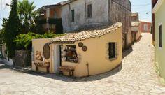 port of call:  Corfu, Greece, an island in the Ionian Sea.