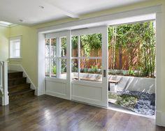 Andersen 4 panel Frenchwood gliding patio door.   Patio Doors and ...