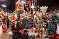 Miss Cayce's Christmas Store. My happy place! Favorite time of year!!