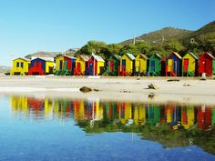 Cape Town, Africa' Bath House (Cabins to change your cloth in)