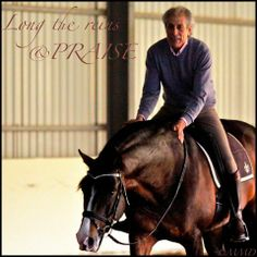 """""""Praise often. Praise the smallest try. A touch, a walk, a break, a gallop, a long rein. A world filled with friendship and pride. Nothing builds confidence in horses like the acknowledgement of their good will and efforts to please."""" Manola"""