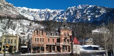 Ouray Chalet Inn--Ouray has amazing hot springs!