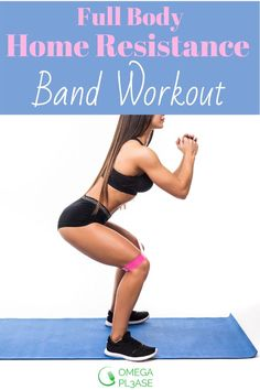 Looking for an effective resistance band workout you can do at home. This full body workout will tone both your upper and lower body for a total body workout session. Try this fat burning workout for women now! Home Exercise Routines, At Home Workouts, Fitness Workout For Women, Fitness Workouts, Bodyweight Upper Body Workout, Full Body, Total Body, Fitness Design, Improve Posture