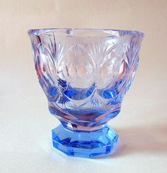 Antiques Atlas - Art Deco Cut Glass Bowl By Alfred Stossel