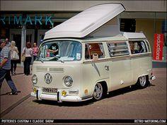 VW Early VW Bay Window Camper by retromotoring #volkswagen #combi #caravane #remorque #trailer : http://remorques-discount.com/