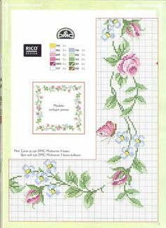 Thrilling Designing Your Own Cross Stitch Embroidery Patterns Ideas. Exhilarating Designing Your Own Cross Stitch Embroidery Patterns Ideas. Cross Stitch Rose, Cross Stitch Borders, Cross Stitch Flowers, Cross Stitch Kits, Cross Stitch Charts, Cross Stitch Designs, Cross Stitching, Cross Stitch Embroidery, Embroidery Patterns