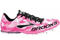 Brooks Womens Mach 15 Knockout Pink Black White Track and Field Shoes US 11 ** Find out more about the great product at the image link.(This is an Amazon affiliate link and I receive a commission for the sales)