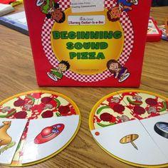 Creating Communicators: Beginning sound pizza