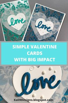Most everyone loves Valentine's Day. Chocolates are popular gifts but #handmadecards are personal and add that extra special touch. In this tutorial, I will show you how to make a simple card with embossing powder, a #heart die shape and some vellum can make a #wow card. #valentinesday #sharehandmadekindness #handmade #cards #crafts